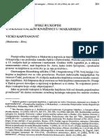 Vicko Kapitanovic Latinski Filozofski Rukopisi u Franjevackoj Knjiznici u Makarskoj Prilozi 1992