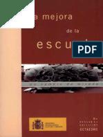 La Mejora de La Escuela. Javier Murillo