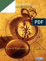 2007 Annual Report DCPCSB