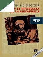 Heidegger KantMetafísica