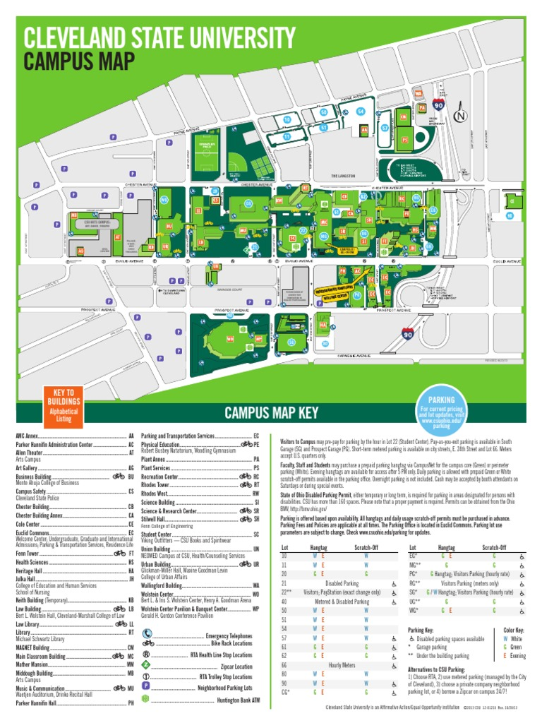 huntington university campus map Campus Map Parking Road Transport huntington university campus map