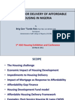 Prospects for Delivery of Affordable Housing in Nigeria (2)