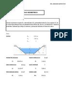 Calculo Geometrico Hidraulico