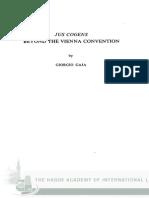 Giorgio Gaja - Jus Cogens - Beyond the Vienna Convention