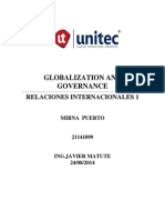 Globalizacion y Gobierno
