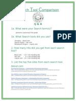 search tool comparison