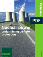 Nuclear Power Undermining Cl