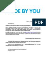 ApplicationForm Internship Tcm63-352664