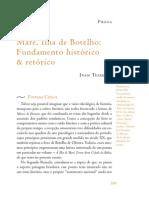 Revista Brasileira 72 - Ivan Teixeira Sobre Botelho