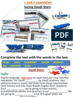 Complete the Text With the Words in The