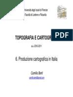 Camillo Berti - Topografia e Cartografia