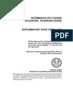 Tax Amendments for 2014