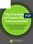 The Psychology of Climate Change Communication