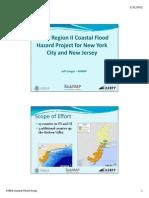 FEMA Region II Coastal Flood Hazard Project for New York City and New Jersey