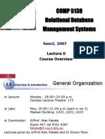 Lecture0 Organization