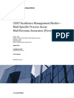 CERT Resilience Management Model—Mail-Specific Process Areas