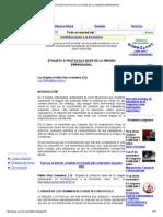 Etiqueta & Protocolo Base de La Imagen Empresarial