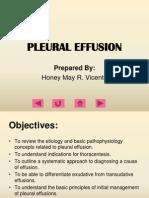 Final pleural effusion