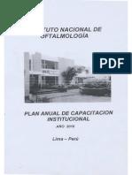 Plan Anual de Capacitacion 2010