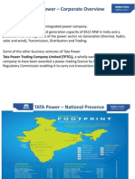 TATA Power – Corporate Overview