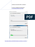 Instalar Hyper v en Windows 7