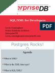 SQL/XML For Postgres Developers