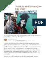 Pakistani Embraced by Islamic State Seeks to Drop U.S. Legal Appeal