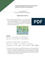 Lista de Exercicios Hidraulica Agrícula Nov 2013 Gabarito