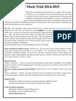 Mock Trial Info Sheet 2014-2015