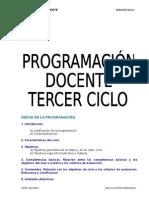 PROGRAMACION-TERCER-CICLO