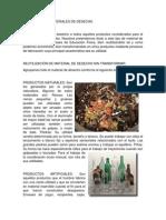 Como Utilizar Materiales de Desechos