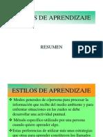 Estilosdeaprendizaje Resumengeneral 120805213654 Phpapp02
