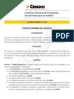Acuerdo 24-2011