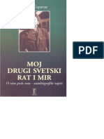 Mirko Tepavac - Moj Drugi Svetski Rat i Mir