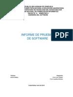 Informe de Pruebas de Software