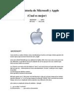Breve historia de Microsoft y Apple.docx