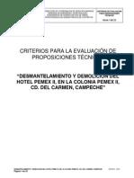 9.- Criterios Evaluacion Tecnica