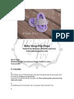Strap Baby Flip Flops1