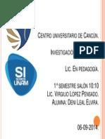 Centro Universitario de Cancún Portada