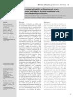 Albumina Pre e Pos Dialise Irc
