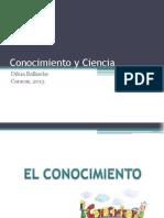 Cocnocimiento y Ciencia-DIBG
