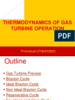Gas Turbine Principle