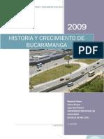 Historia y Crecimiento de Bucaramanga (Ing. Transito Uis 2009)