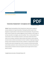 PowellConceptualProblemsOutcomesAssessment FromAAUP Journal of Academic Freedom Vol2no1 - Copy