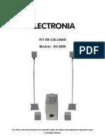 Manual Kit Prol Electronia AV-2050