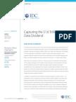 IDC White Paper Capturing the 1point6 Trillion Data Dividend