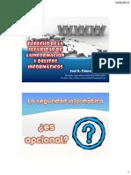 Delitos Informáticos y Derecho de La Seguridad de La Información