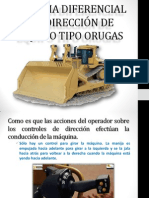 Sistema Direccion Oruga