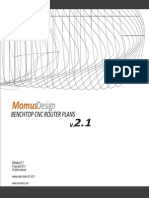 Momus Design Cnc Router Manual Version 2.1