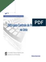 SVCs para Controle de Processos no Unix